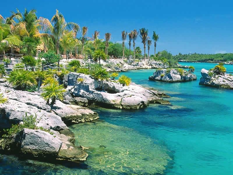 Playas en el Mar Caribe