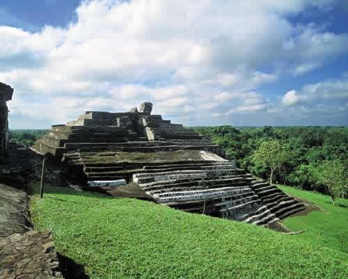 Zonas Arqueológicas en Tabasco