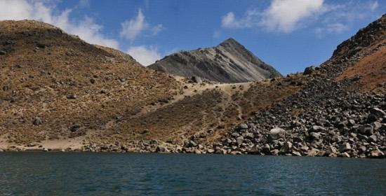 Lagunas en el Cráter del Nevado de Toluca (Estado de México)