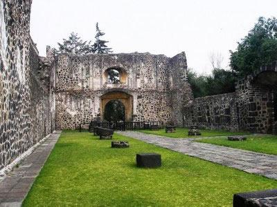 Convento de San Juan Evangelista, Ciudad de México