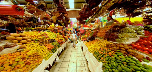 Mercado en Morelia