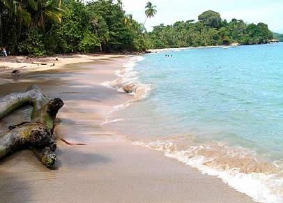 Playas en el Pacífico