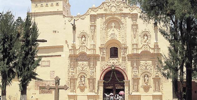 Convento de San Luis Obispo, Huexotla