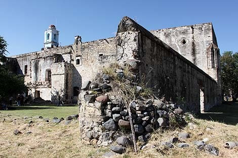 Convento de San Martín, Huaquechula