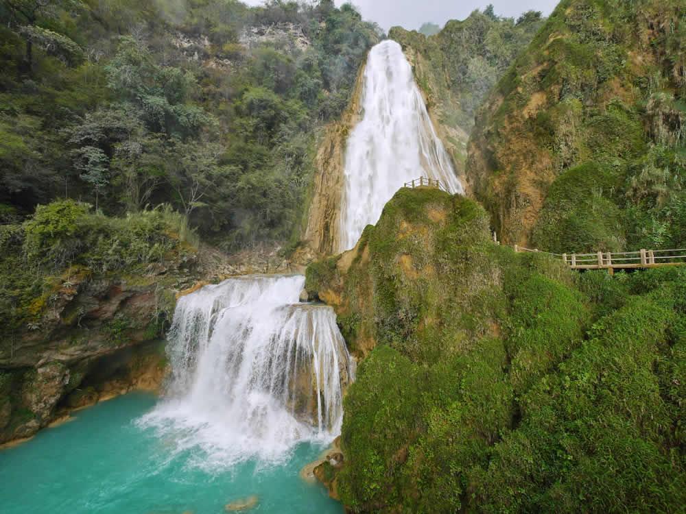 Balnearios en Chiapas