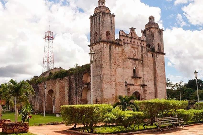 Ruta de las Iglesias en Quintana Roo