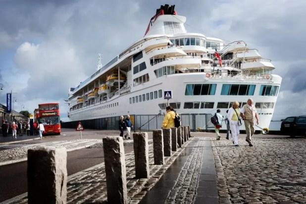 Krydstogtsskibene er ladet med guld. En undersøgelse fra Cruise Copenhagen Network viser, at krydstogtsturismen skaber næsten 2000 job i Danmark. Og et fremragende 2017 bliver nu rundet af med, at København er nomineret som verdens bedste krydstogtsdestination ved World Travel Awards. (Foto: Ty Stange/Copenhagen Media Center)