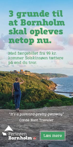 Et eksempel på indhold i den nye kampagne fra Bornholm.
