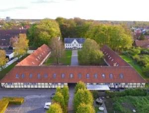 Danhostel Odense Kragsbjerggaard skal renoveres, så man kan tiltrække nye målgrupper. (Foto: Danhostel)