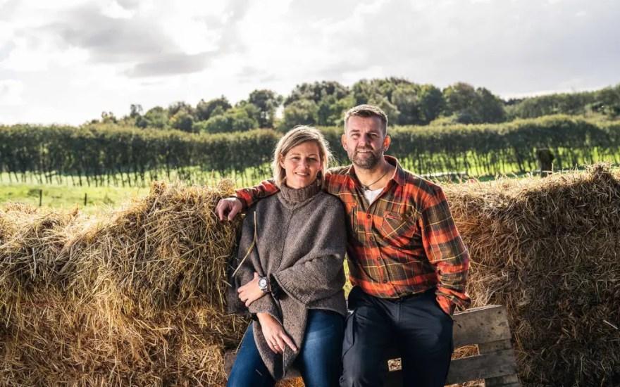 En af iværksætterne, der har fået hjælp i TourismX er Henriette og Peter Rask, der står bag Pintrip, der har udviklet en guidebog for autocampere) (Foto: Frederik Maj