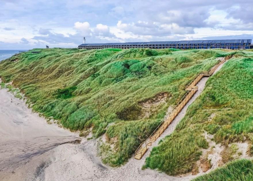 Ferieparken Fyrklit ved Hirtshals bliver fra begyndelsen af 2021 til en del af Landal GreenParks. (Foto: René Stoklund)