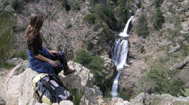 Cascate dell'Amendolea in Aspromonte