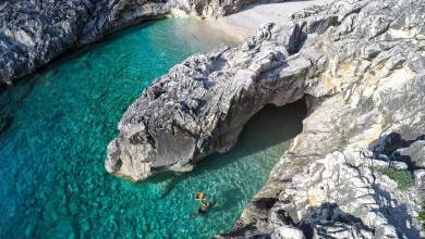 Meta Turistica LovelyPlanet, Radio3, Albania, Skaloma Begetbay, Karaburun Peninsula, Valona