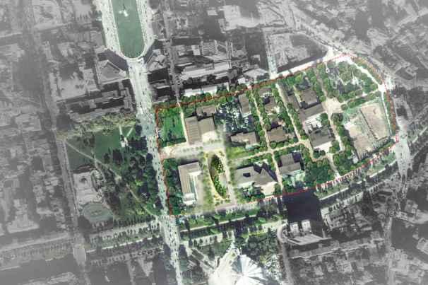 MET Tirana Building, dello studio Mario Cucinella Architects Planimetria