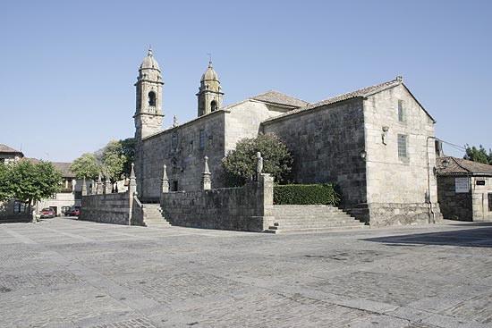 IGLESIA IGREXA DE SAN BENITO EN CAMBADOS PONTEVEDRA - GALICIA