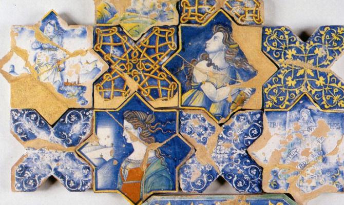 Quali sono le tecniche impiegate per decorare le piastrelle in ceramica? Deruta Il Borgo Della Ceramica