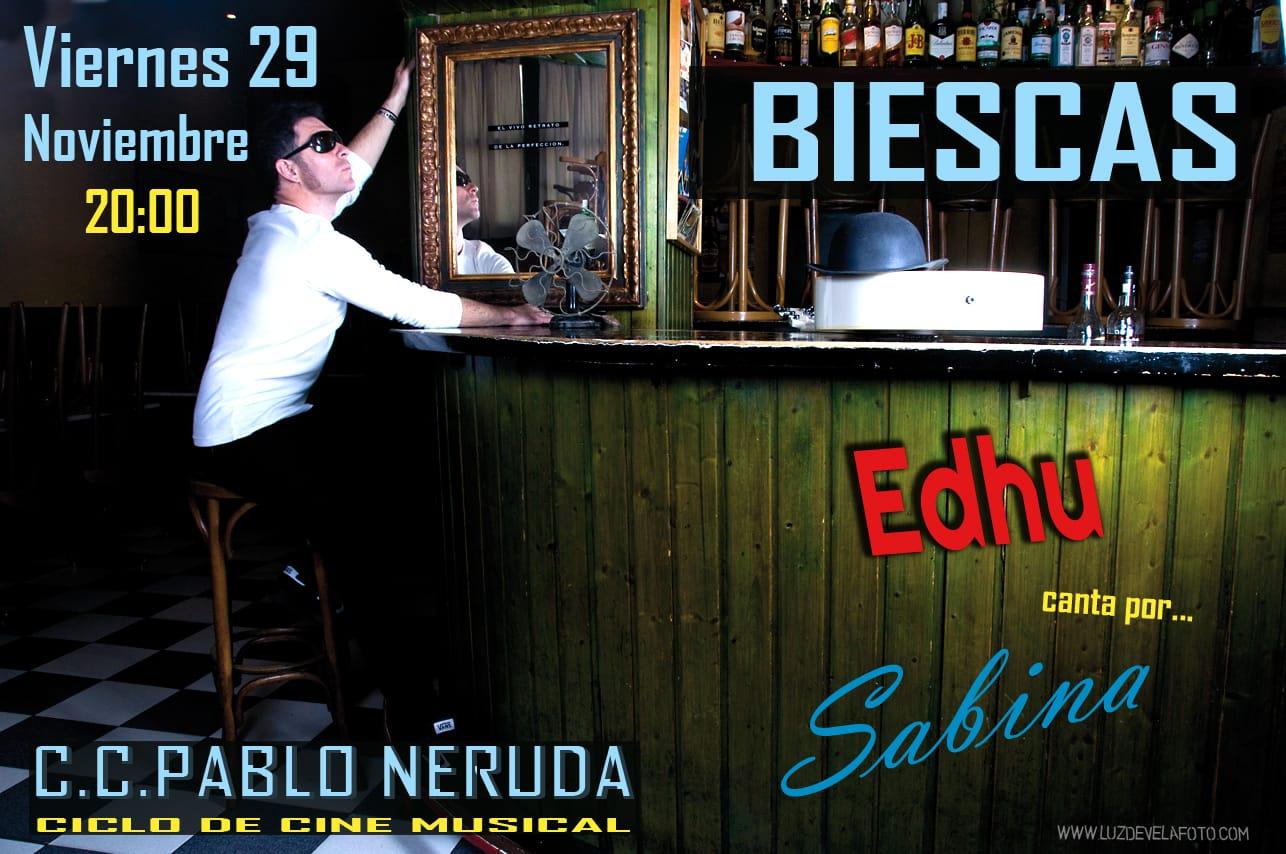 Concierto tributo a Sabina en Biescas