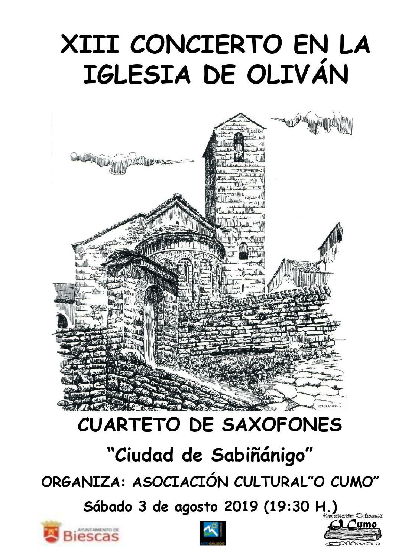 XIII Concierto en la Iglesia de Oliván