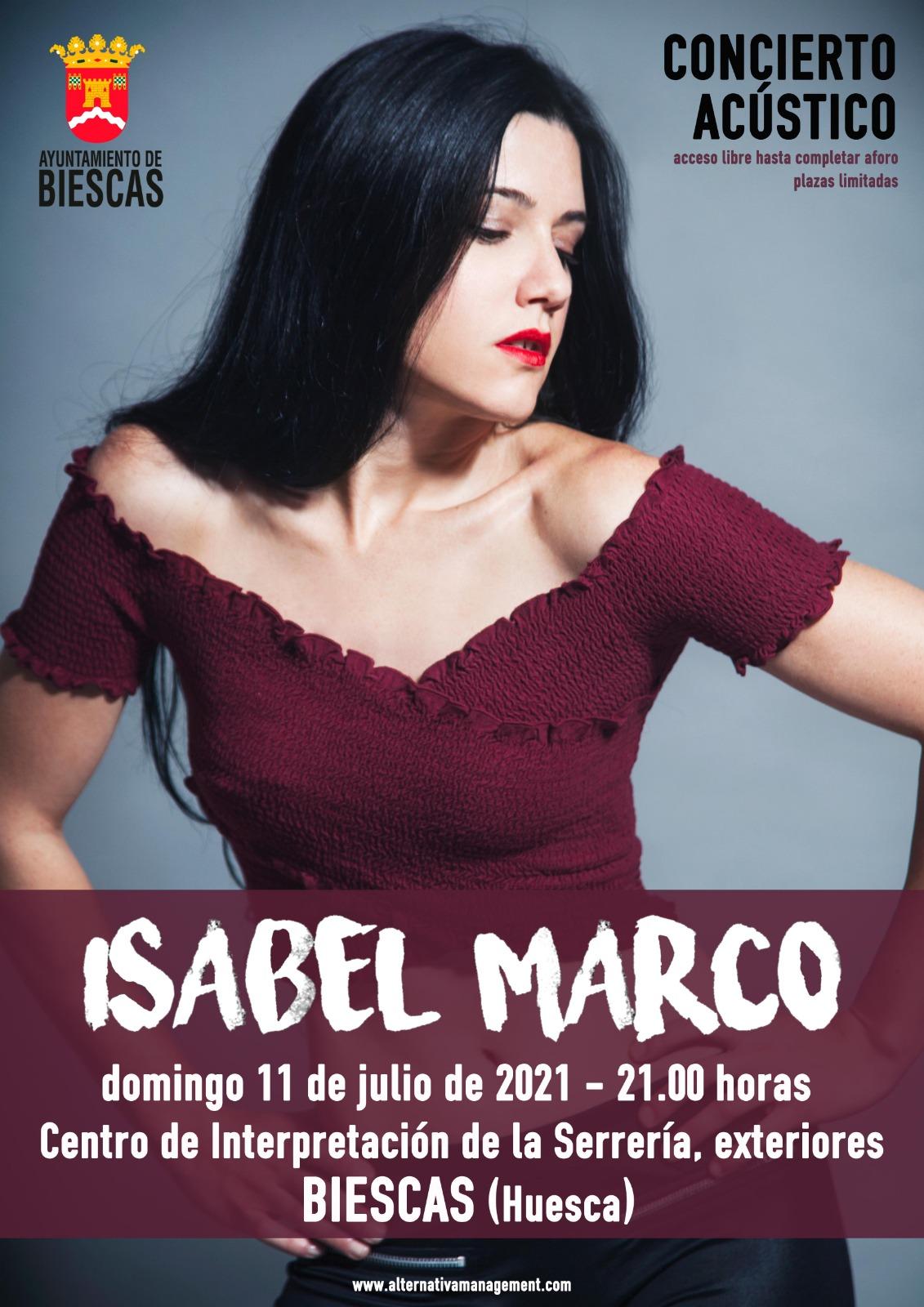 Concierto Isabel Marco