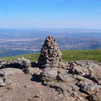 mejroes vistas Extremadura Calvitero