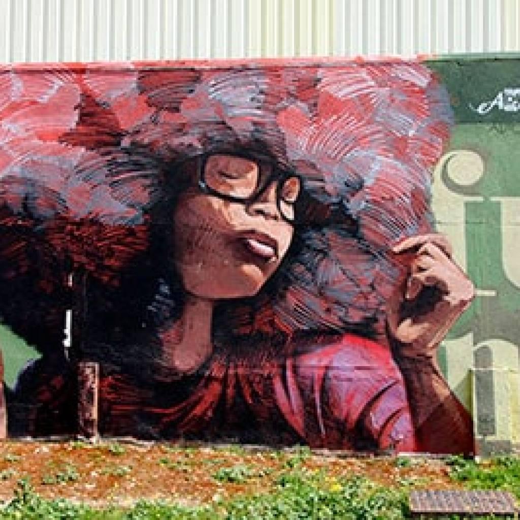 Casar de Cáceres arte en las calles grafittis