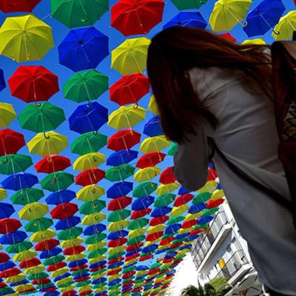 Malpartida de Cáceres Paraguas de colores