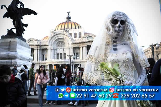 Desfile de Catrinas En La CDMX