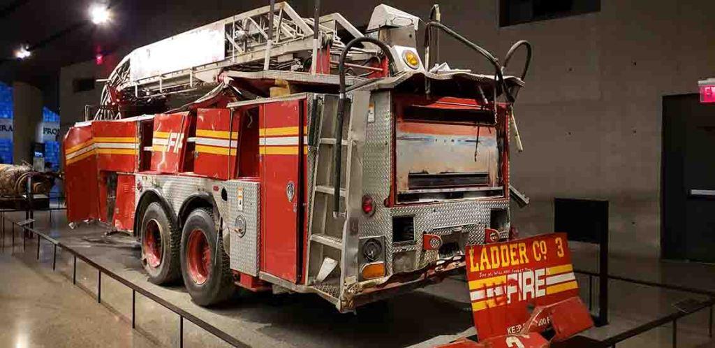Carro de bombeiro em Nova York