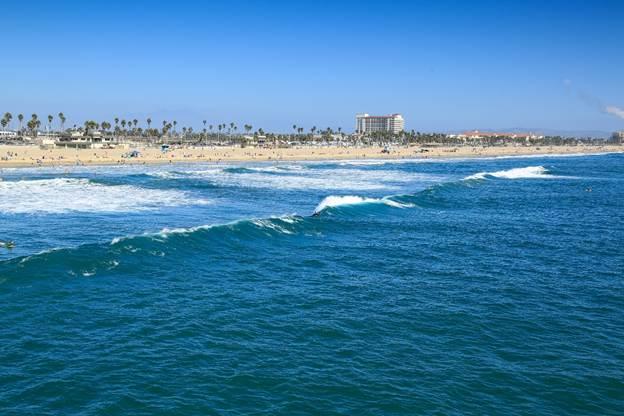 surfe na Califórnia