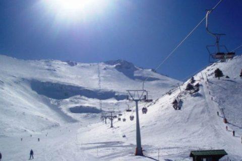 esqui na grecia