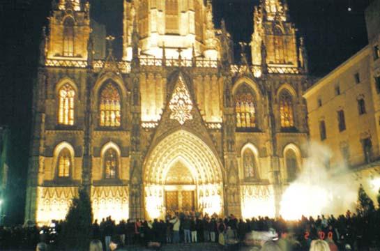 Catedral Gotica de Barcelona 2