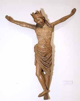 Crucificado Coronado - anonimo