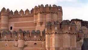 Castillo de Coca en Segovia 5