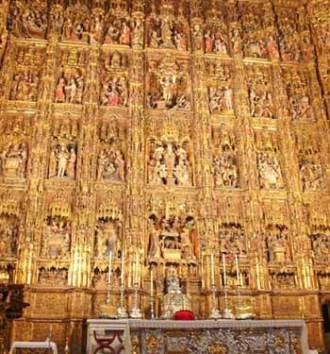 Retablo catedral sevilla