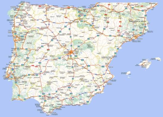 Mapa Carretero de España
