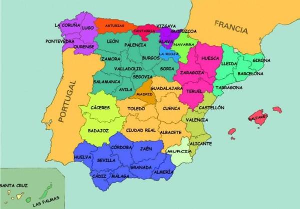 provincias de espana