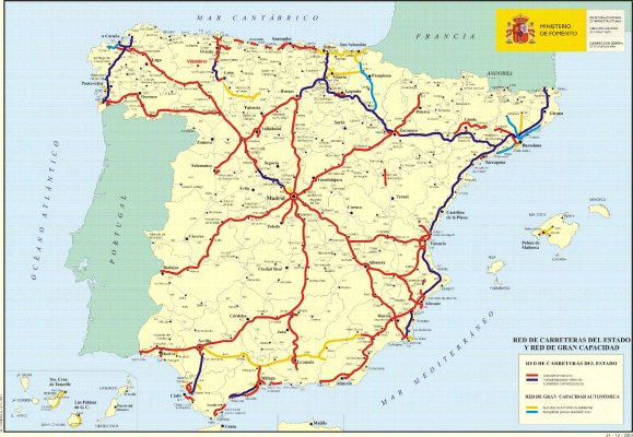 Mapa Carretero de España 1