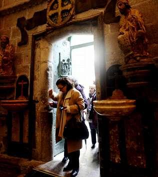 El 2010 empieza con un 65% más de peregrinos que el anterior año santo