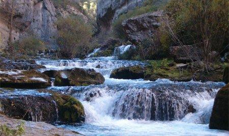 Nacimiento del río Pitarque 1