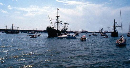 Fiestas Colombinas en Huelva 1