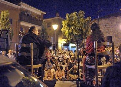 La noche en Vela en Becerril