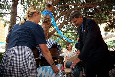 El Biergarten del Gran Hotel Princesa Sofia da comienzo a la Oktoberfest