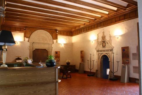 El Palacio del Papa Benedicto XIII, Hospedería de Illueca