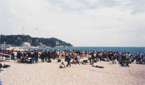 Marcha de las Ermitas de LLoret del Mar  1
