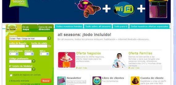 All seasons lanza su web en español  2