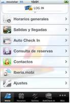 Iberia.com es accesible desde el iPhone y iPod Touch