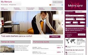 Mercure lanza su nueva web en español 1