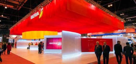 Iberia elegido como el mejor stand de FITUR