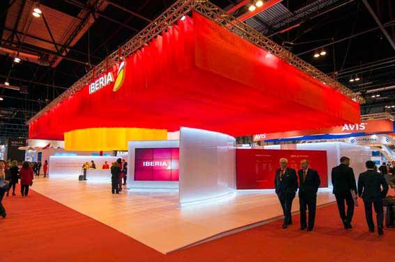El Stand de Iberia fue elegido como el mejor en FITUR