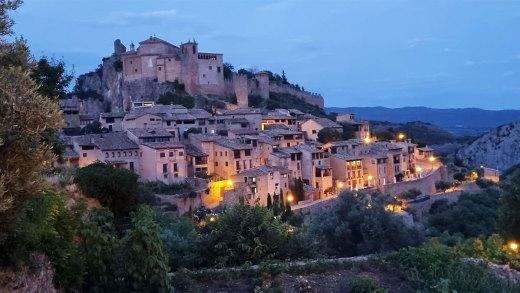 Visita al pueblo medieval de Alquezar en Huesca – Plano de Alquezar